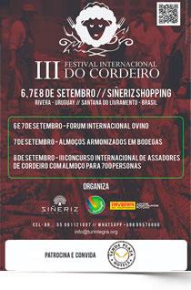 Hotel Nuevo - Flyer Festival Cordeiro